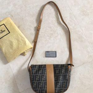 Authentic Fendi shoulder/crossbody bag